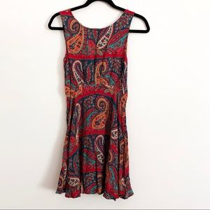 Free People   Paisley Mini Dress